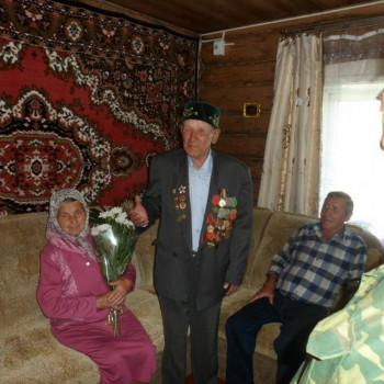 Семья ветерана ВОВ Вахитова